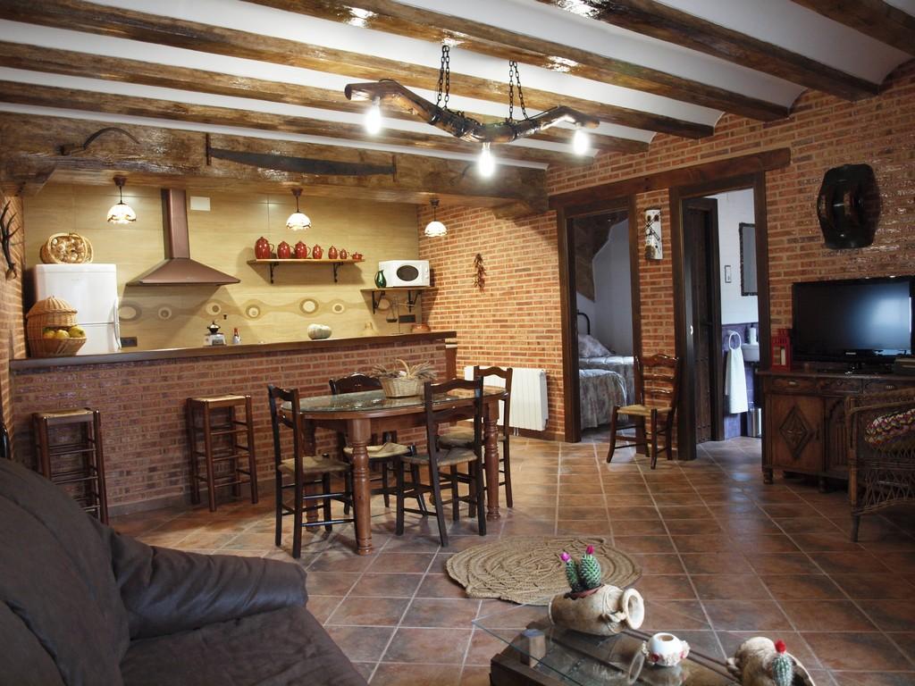 Casa rural en valverde de jucar cuenca balcon de san roque - Casas de ensueno interiores ...